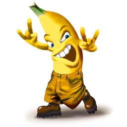 är banan stoppande
